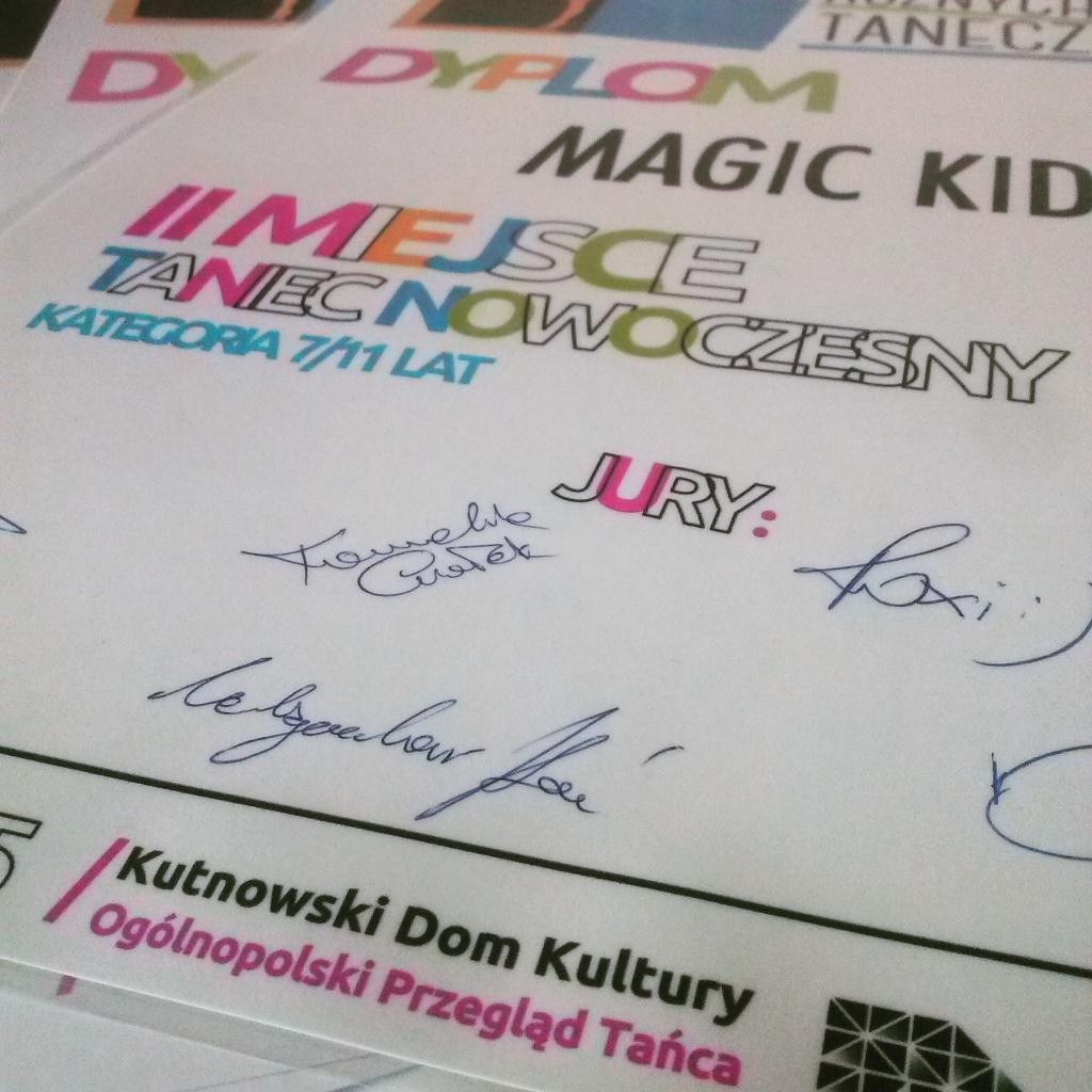 MAGIC KIDS WYTAŃCZYLI SREBRO