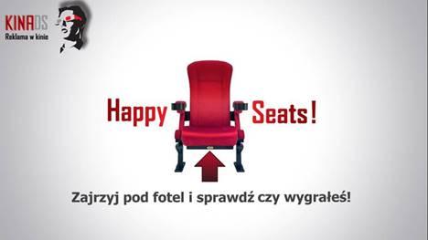 """""""Szczęśliwy fotel/Happy Seats"""" w Kinie SIEMOWIT"""