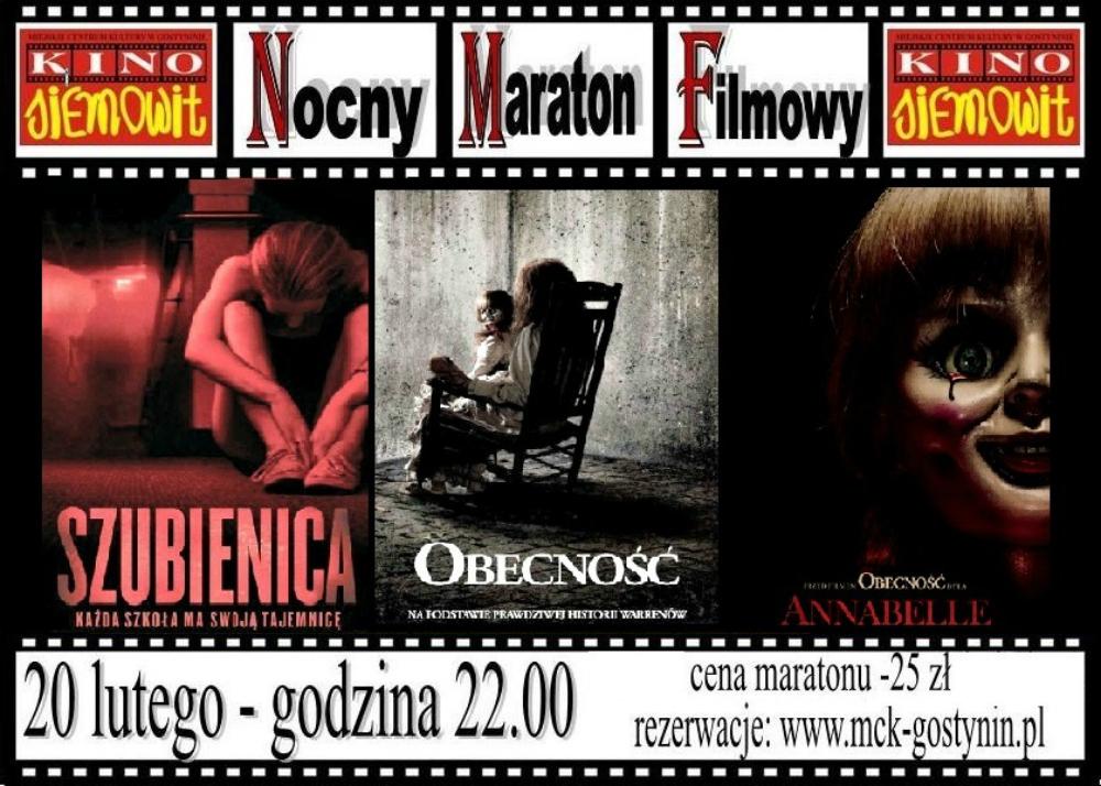 """""""Nocny Maraton Filmowy: Horrory"""""""