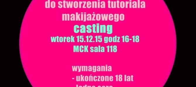 CASTING / JAGA GORTAT MAKE UP
