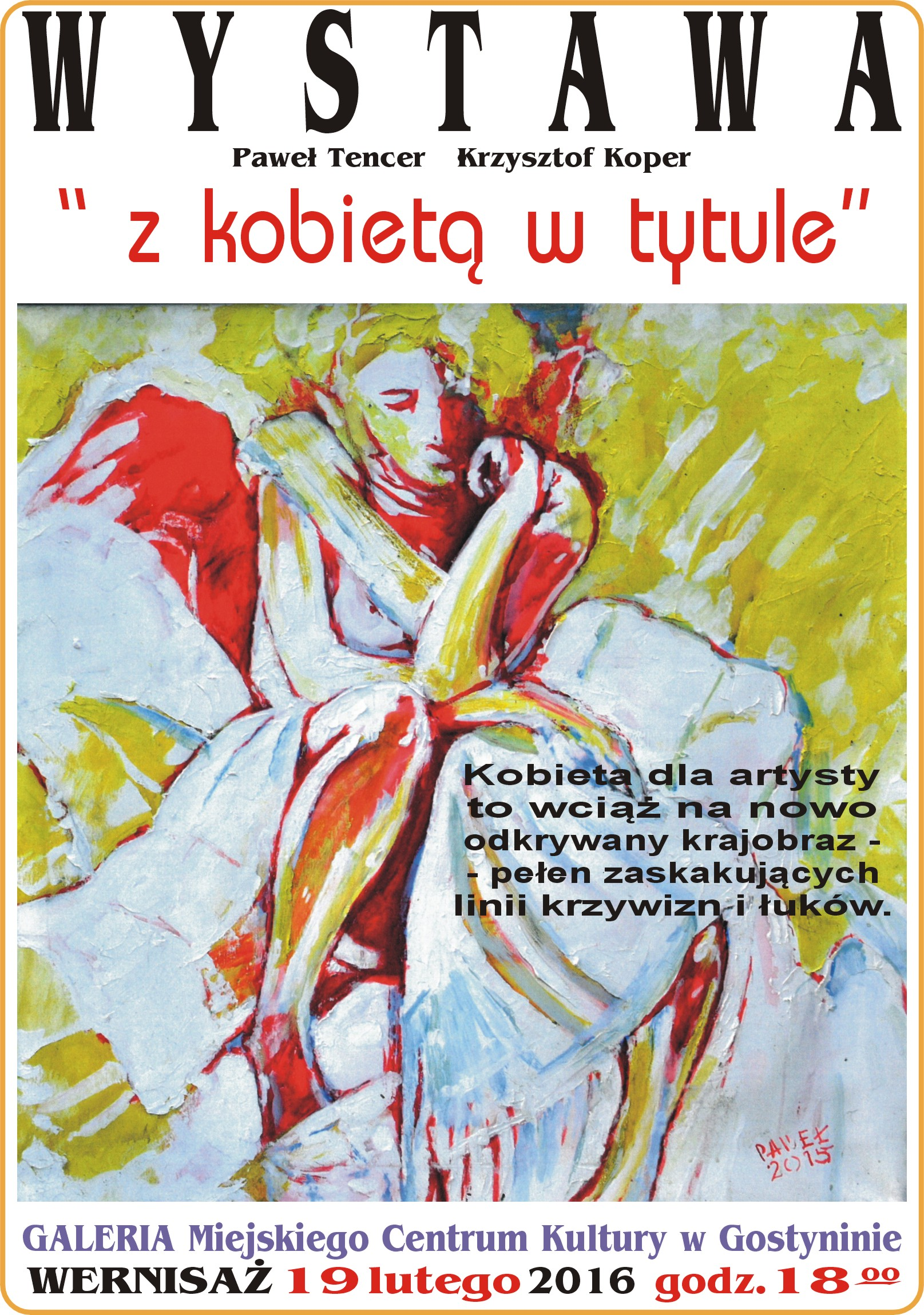 """Wrażenia z wystawy """"Z Kobietą w tytule"""""""