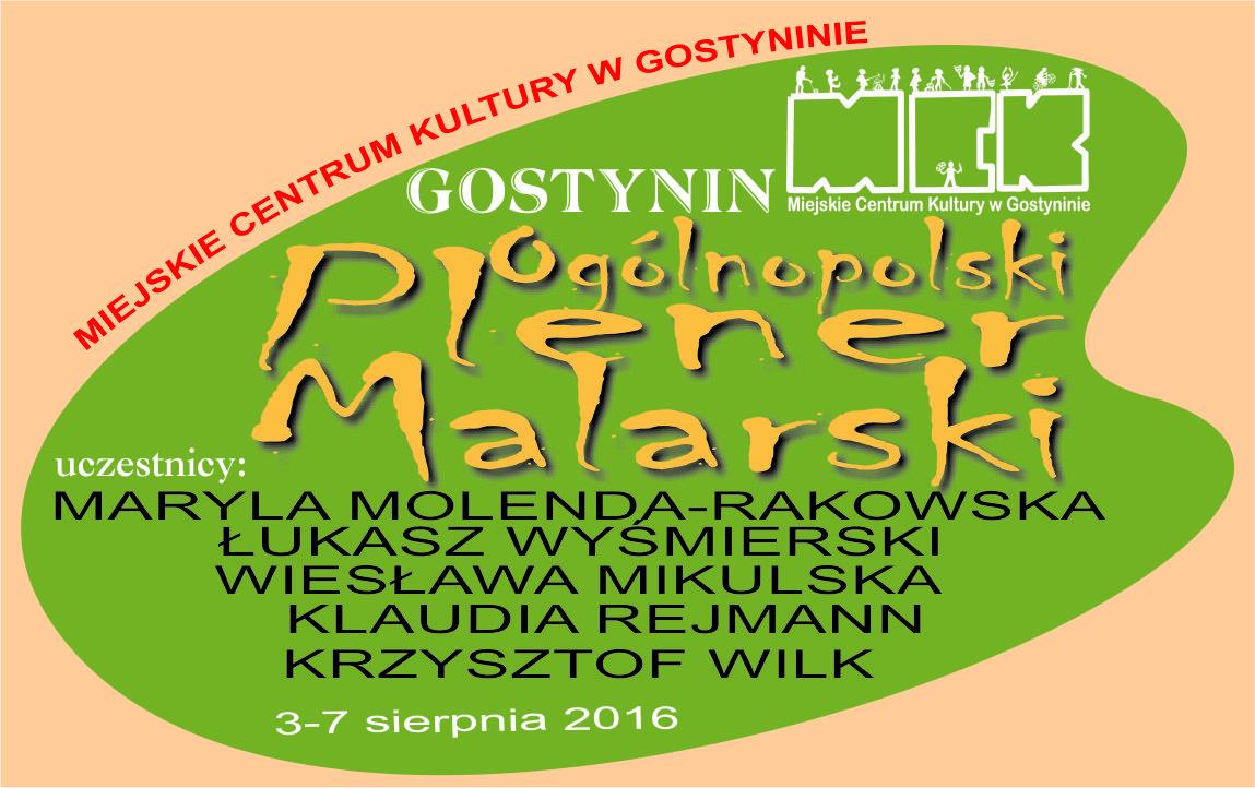 "PLENER MALARSKI ""GOSTYNIN-ŻNIN 2016"""