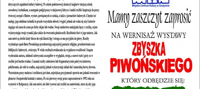 Wernisaż Zbyszka Piwońskiego
