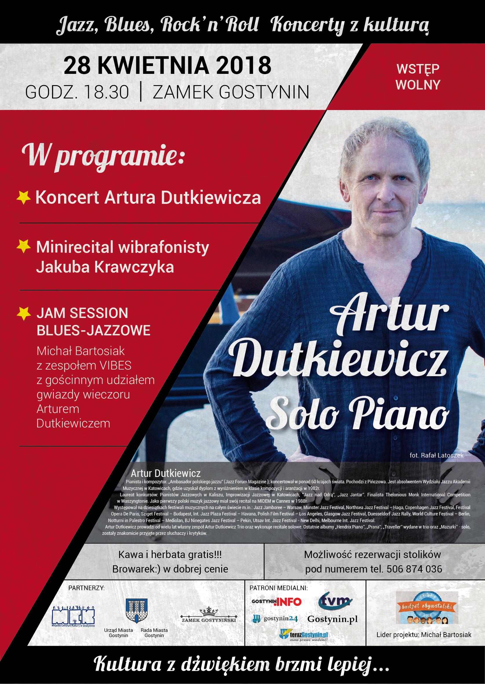 Artur Dutkiewicz Solo Piano