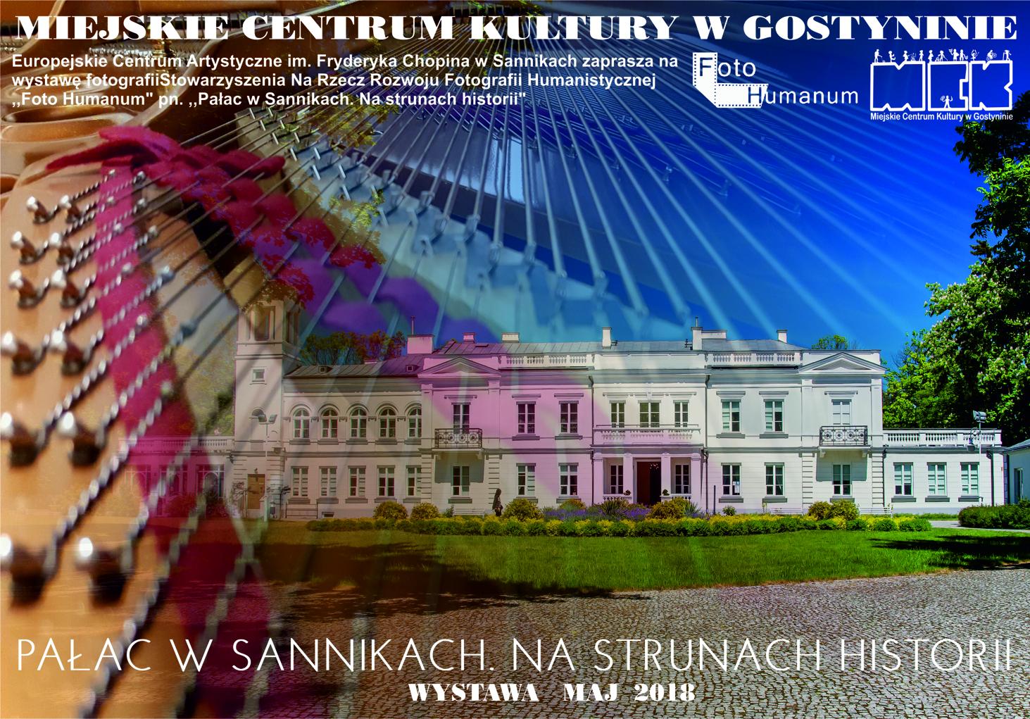Pałac w Sannikach. Na strunach historii – WYSTAWA