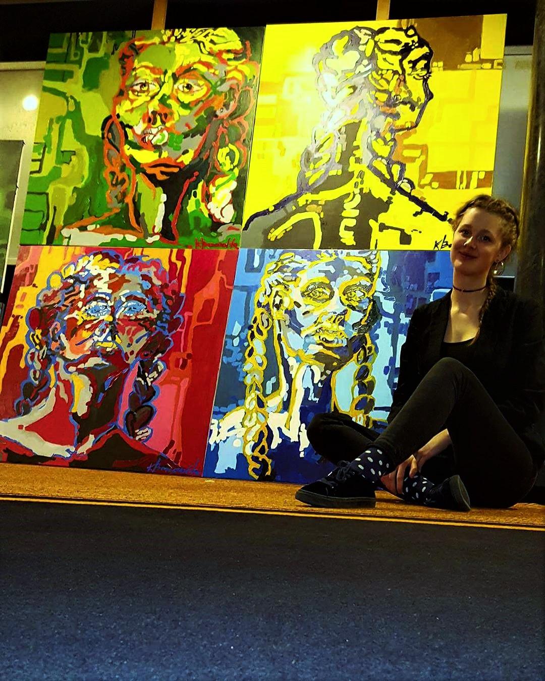 Wystawa malarstwa i rysunku Karoliny Boruszewskiej PRZESTRZENIE
