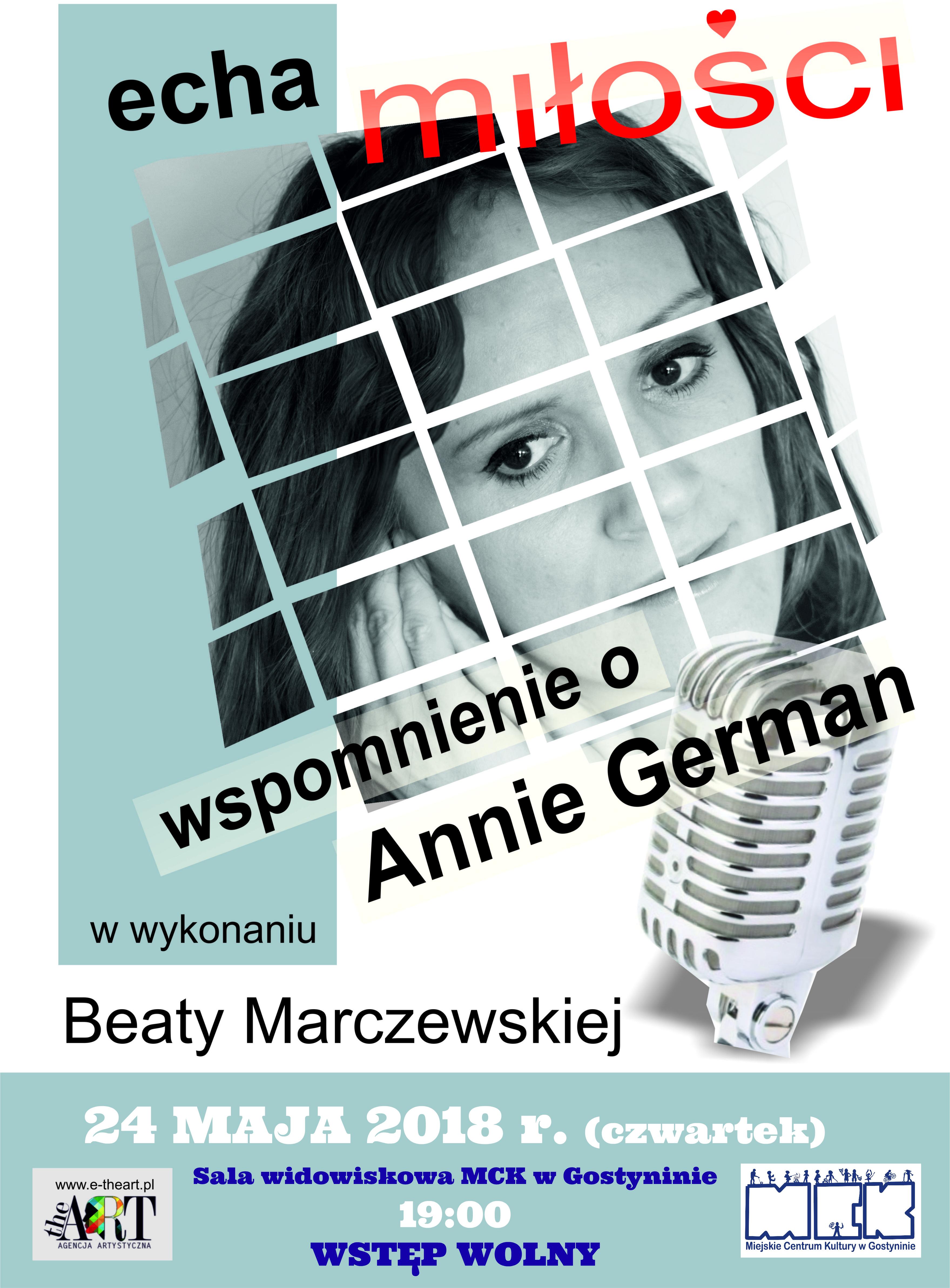 24.05.2018 Gramy dla Mamy – wspomnienie o Annie German