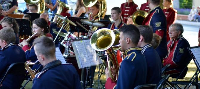 Koncert Miejskiej Orkiestry Dętej zgromadził tłumy