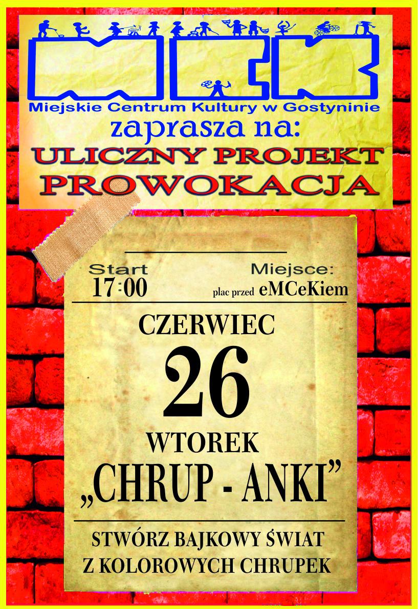 """""""Chrup-Anki"""" PROWOKACJA"""