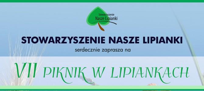 PRZYJACIELE Z LIPIANEK ZAPRASZAJĄ!