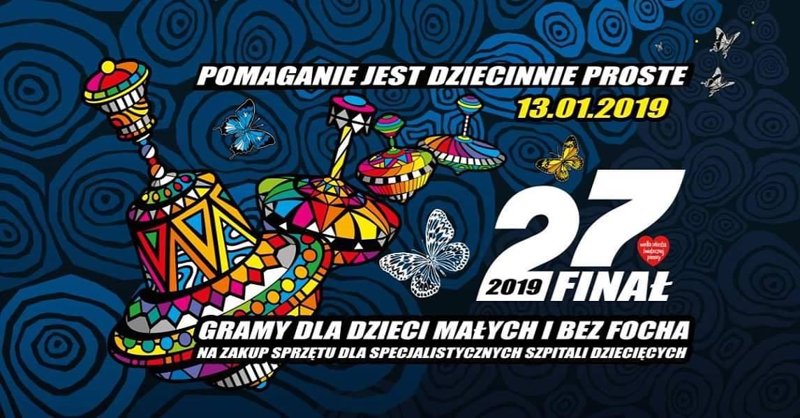 27 Finał WOŚP 2019 fotorelacja