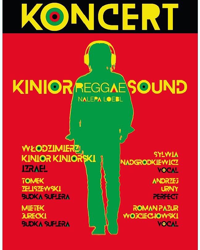 "AIM zaprasza na koncert ""KINIOR REGGAE SOUND"""