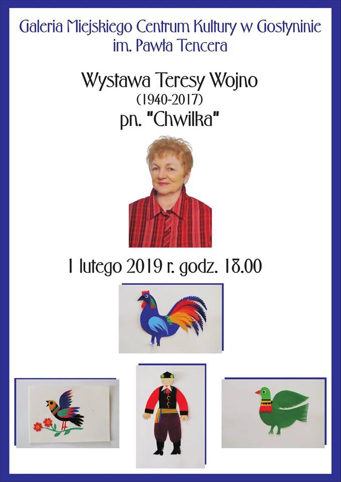 Wystawa Teresy Wojno