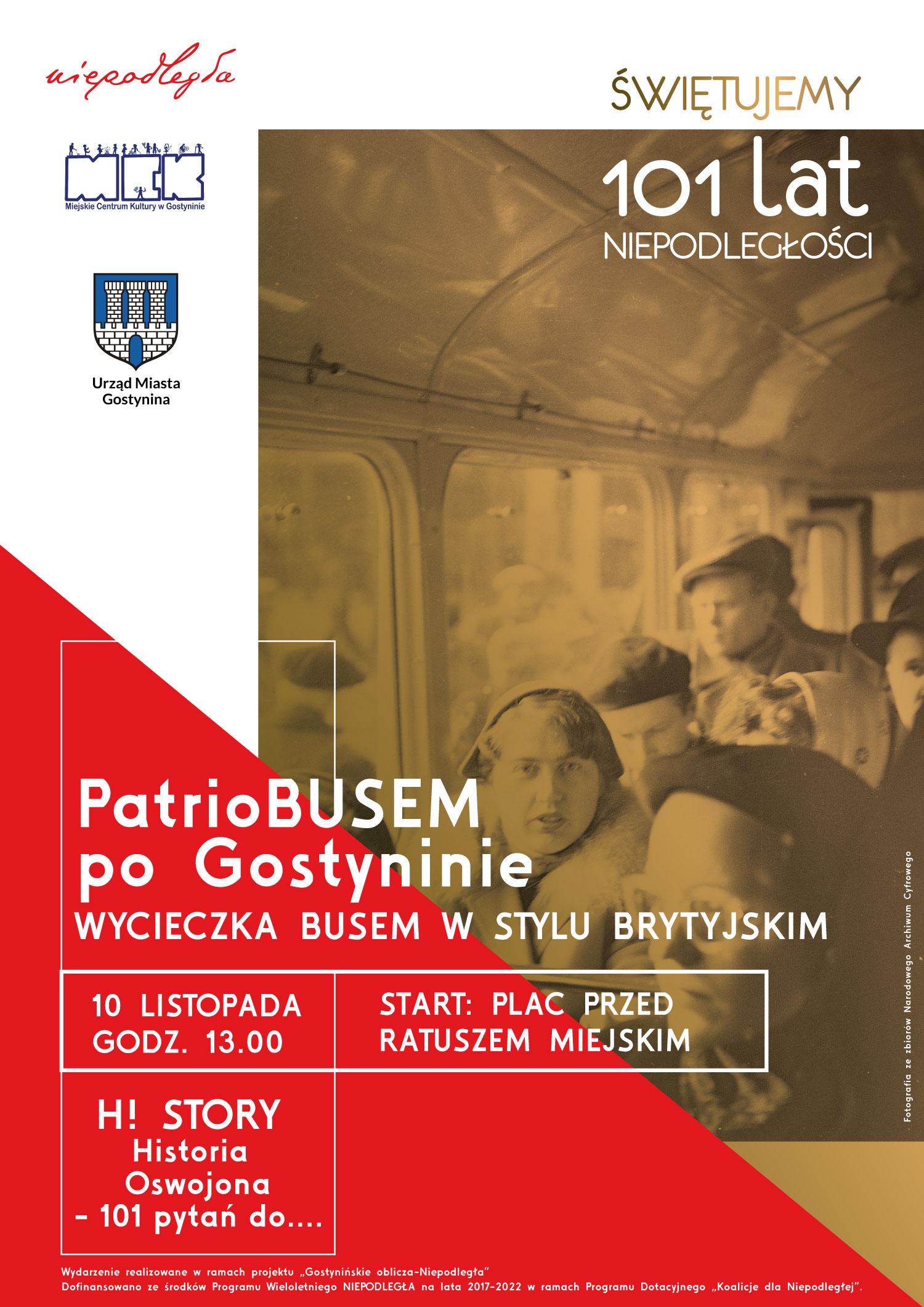 PATRIO-BUSEM PO GOSTYNINIE!