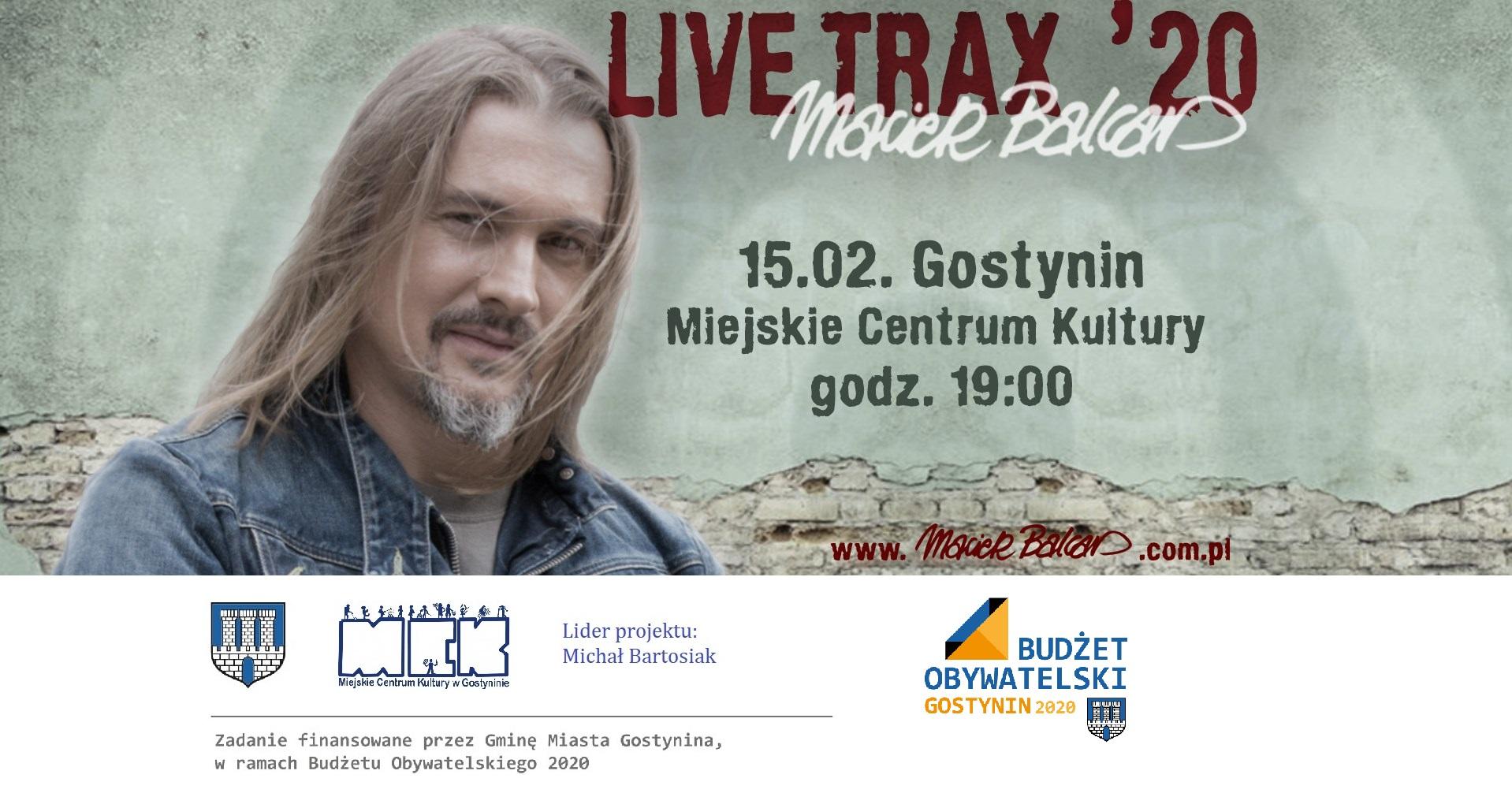 Koncert Macieja Balcara – Budżet Obywatelski 2020