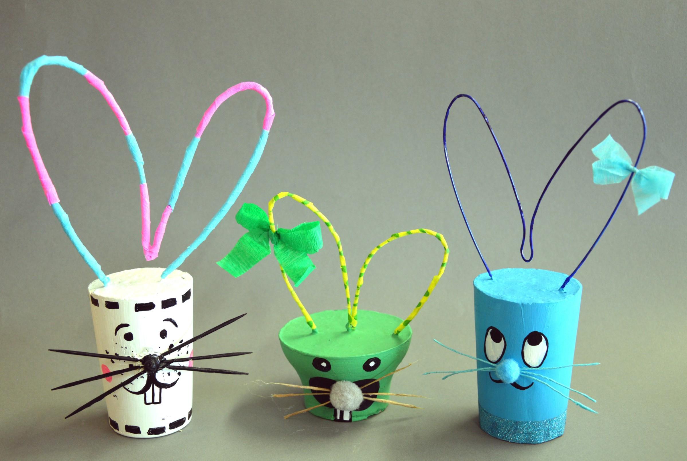 Wielkanocny Zajączek – rękodzieło – zabawy plastyczne