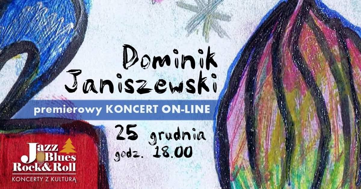 25.12 – Świąteczna Gitara – Dominik Janiszewski | Koncert on-line