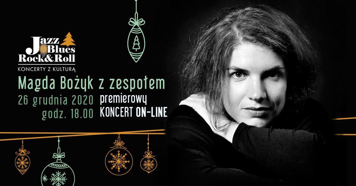26.12 – Magda Bożyk – Akustycznie z nutką Bożego Narodzenia – koncert on-line