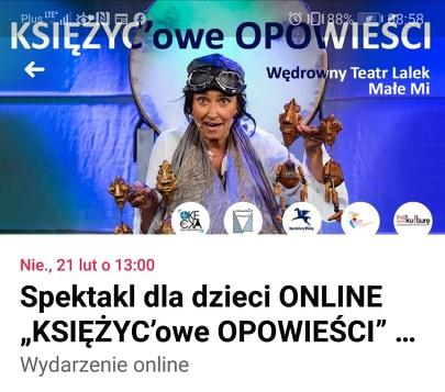 Nie taki on-line straszny #plastykairekodzieło /Spektakl dla dzieci ONLINE