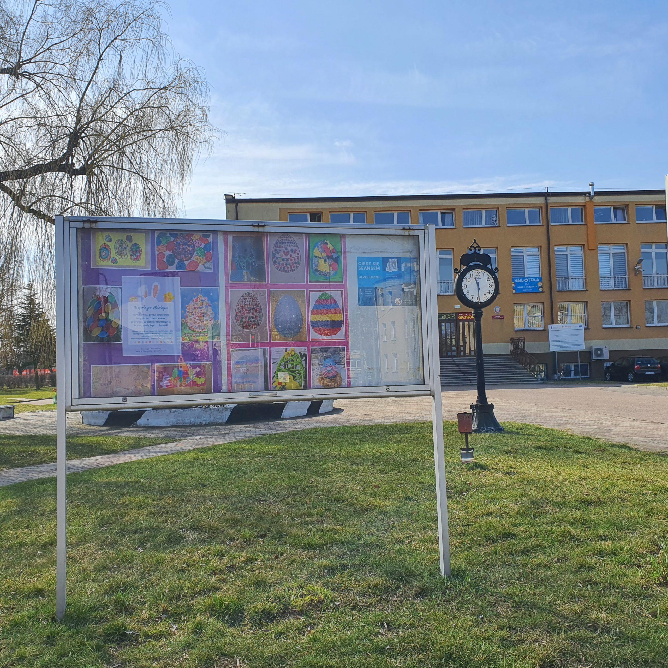 """Miejska Galeria Plenerowa """"Wiosenne Konkursy MCK"""""""