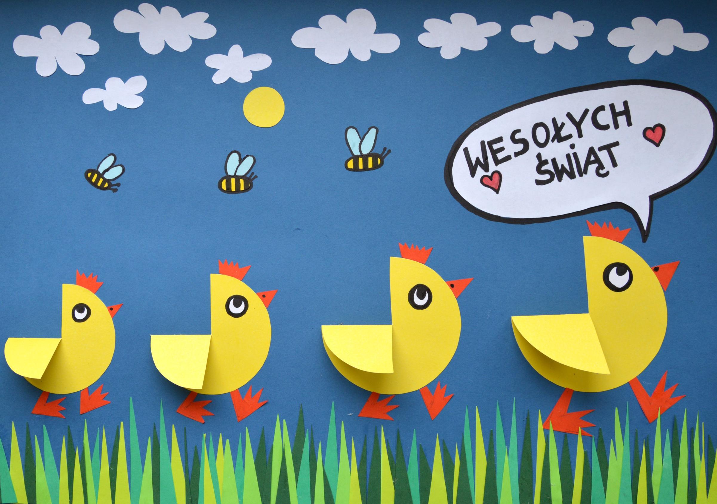Nie taki on-line straszny #plastykairekodzielo / wędrowne kurczaki
