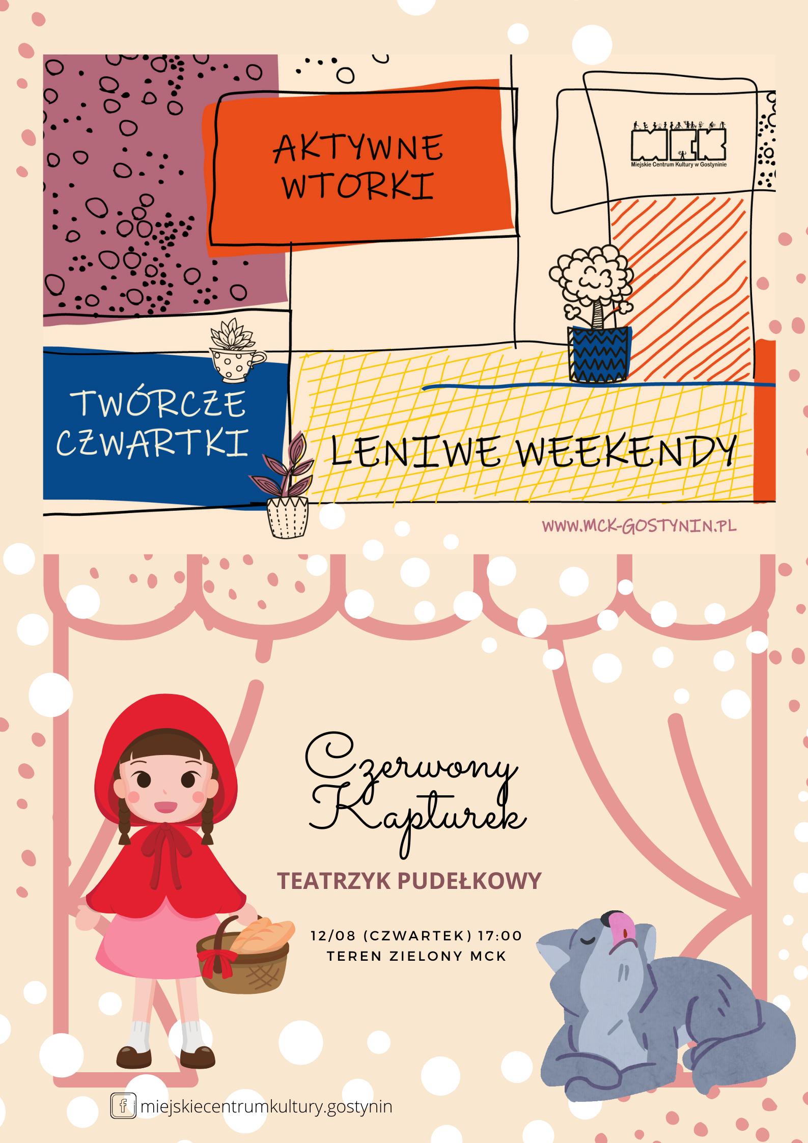 12/08 |Czerwony Kapturek / Teatrzyk pudełkowy| #twórczyczwartek