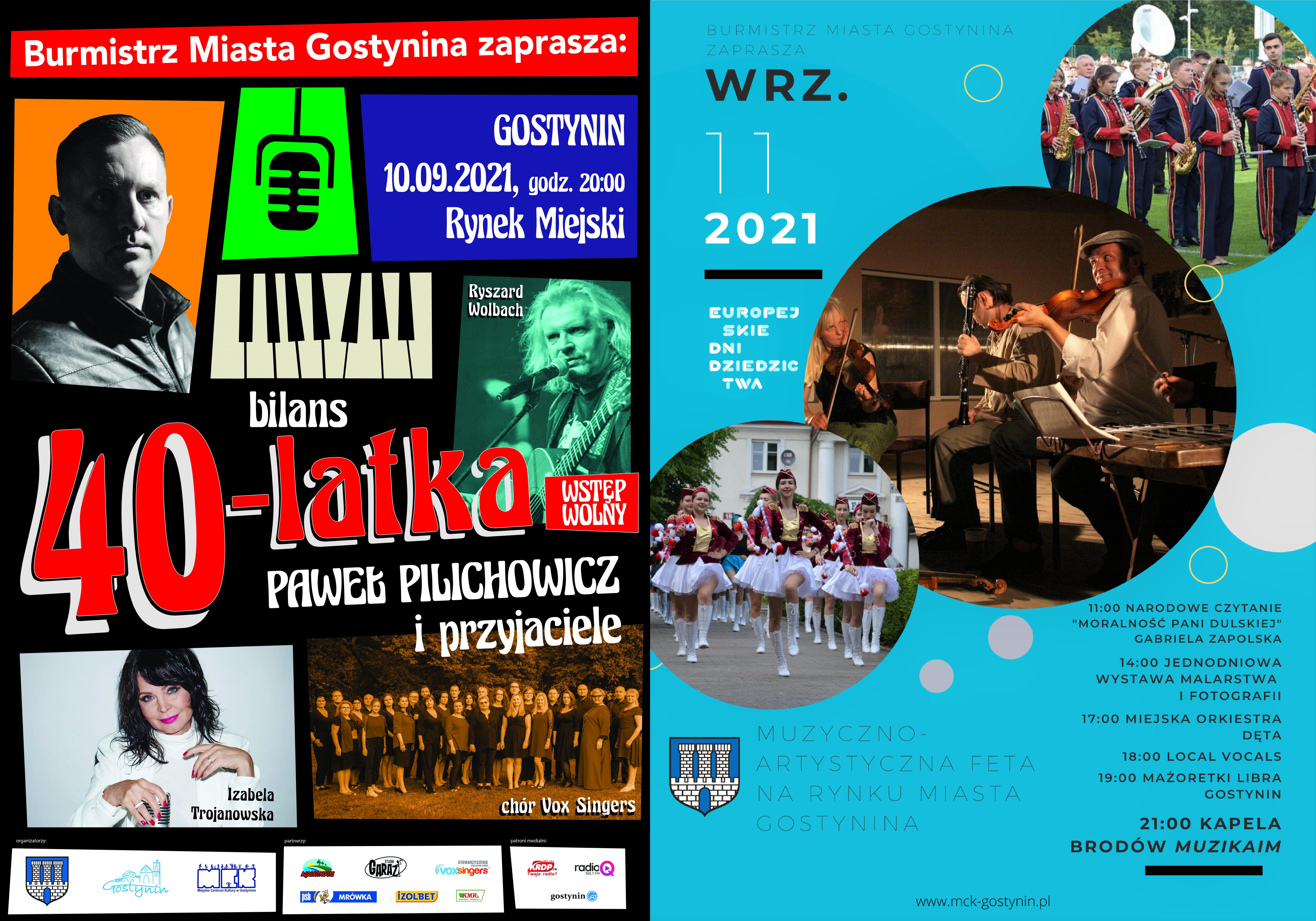 10-11/09   Muzyczna FeTA – Festiwal Muzyczno-Artystyczny – Rynek Miejski   EDD 2021