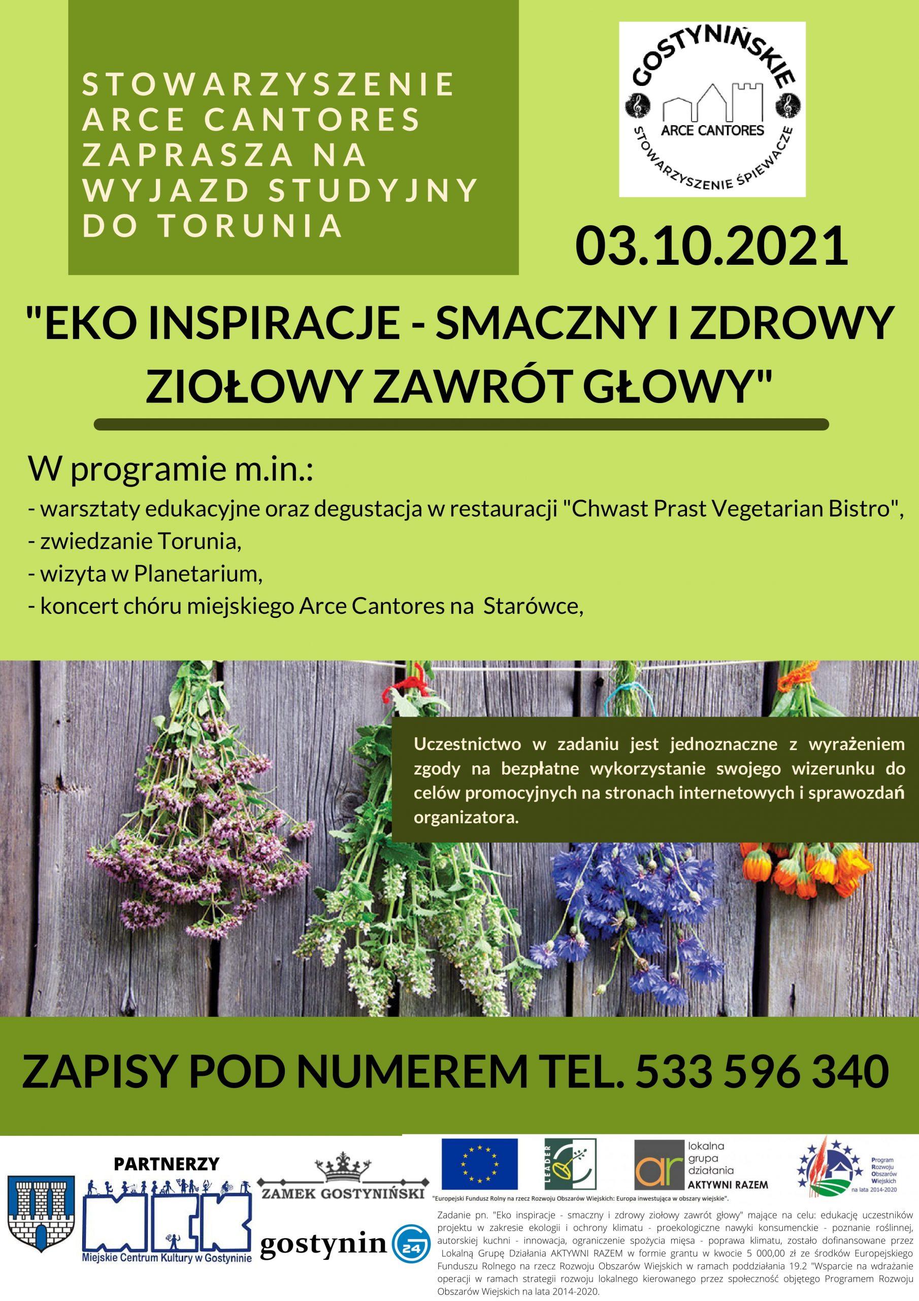Eko inspiracje -smaczny i zdrowy ziołowy zawrót głowy